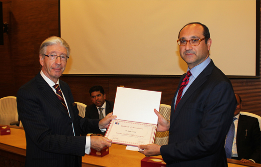 Awards Ceremony for outstanding contribution in publishing articles in international journals  – Burjeel Hospital