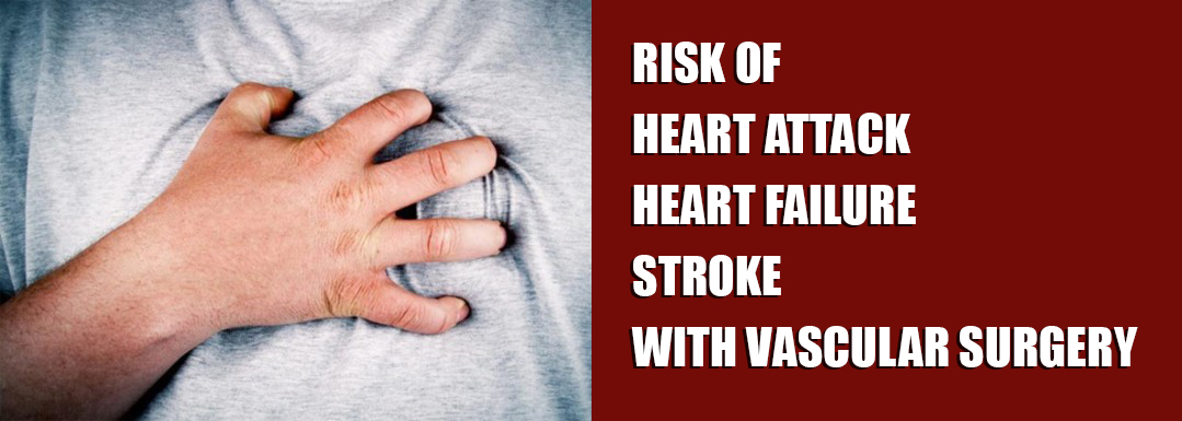 Risk of Heart Attack / Heart Failure / Stroke with Vascular Surgery